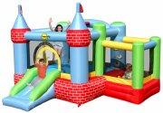 bouncy castle hoppeborg - slot hoppepude med boldrum - Udendørs Leg