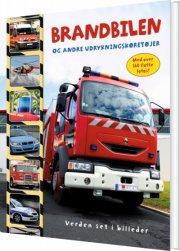 brandbilen og andre udrykningskøretøjer - bog