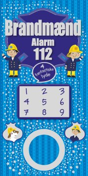 brandmænd alarm 112 - med lyd - bog
