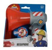 brandmand sam legetøj - megafon - 16 cm - Figurer