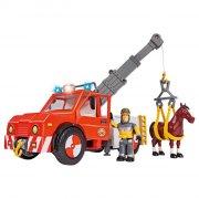 brandmand sam bil med figurer - Figurer
