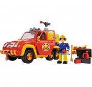 brandmand sam brandbil med figurer med lyd - 19 cm - Figurer