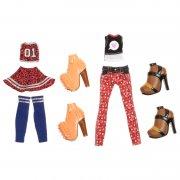 bratz - fashion deluxe dukketøj - cloe og sasha - Dukker
