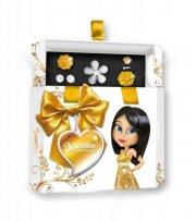 briliantina - smykkeskrin med smykker - guld - Kreativitet