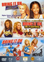 bring it on 2 bring it on again // bring it on 3 all or nothing // bring it on 4 in it to win it - DVD