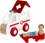 brio - ambulance med lys og lyd - 30381 - Køretøjer Og Fly