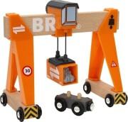 brio kran togbane / containerbro - Køretøjer Og Fly