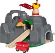 brio - kran og bjergtunnel - 33889 - Køretøjer Og Fly
