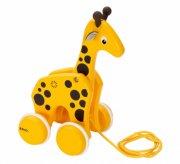 brio trækdyr - giraf - Babylegetøj
