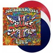 joe bonamassa - british blues explosion live (rød/hvid vinyl) - Vinyl / LP