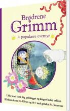 brødrene grimm - 4 populære eventyr iii - bog