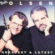 brødrene olsen - greatest & latest - cd