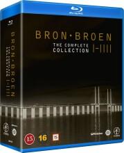 broen - sæson 1-4 - Blu-Ray