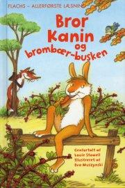 bror kanin og brombær-busken - bog