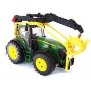 bruder 3053 - john deere legetøjs traktor til skovbrug - Køretøjer Og Fly