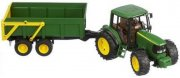 bruder - john deere traktor 6920 with trailer (2058) - Køretøjer Og Fly