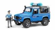 bruder 2597 - land rover politibil - Køretøjer Og Fly