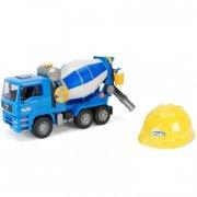 bruder 01638 - man tga betonblander med hjelm - Køretøjer Og Fly