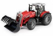 bruder massey ferguson traktor med frontlæsser - Køretøjer Og Fly