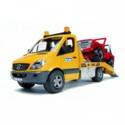 bruder 02535 - mercedes benz biltransport med jeep - Køretøjer Og Fly