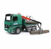 bruder mercedes benz tømmerbil med kran - Køretøjer Og Fly