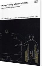 brugervenlig affaldssortering - bog
