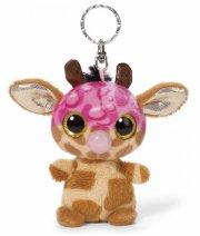 giraf bamse nøglering - neenee - 9 cm - Bamser