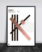 buus works plakat - københavn 50x70cm - Til Boligen