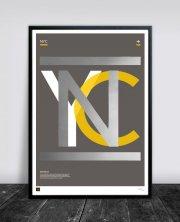 buus works plakat - new york 50x70cm - Til Boligen