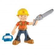byggemand bob - skovhugger action figur med motorsav - Figurer