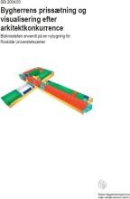 bygherrens prissætning og visualisering efter arkitektkonkurrence - bog