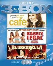 café // barely legal // blubberella - Blu-Ray