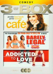 café // barely legal // addicted to love - DVD