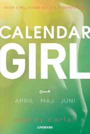 calendar girl 2: april-maj-juni - bog
