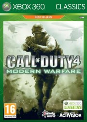 call of duty 4: modern warfare (uk) (classics) - xbox 360