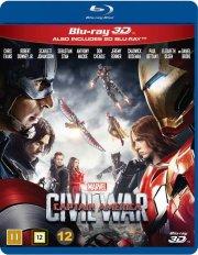 captain america 3 - civil war - 3D Blu-Ray