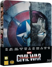 captain america 3 - civil war - steelbook - Blu-Ray