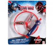 pull string copter - captain america - Køretøjer Og Fly