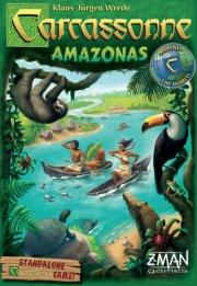 carcassonne: amazonas - spil på engelsk - Brætspil