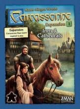 carcassonne: inns and cathedrals - nordic - brætspil - Brætspil