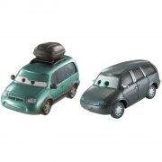 cars 3 / biler 3 die cast figur - minny & van - Køretøjer Og Fly