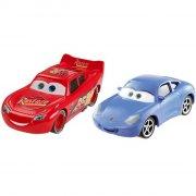 cars 3 / biler 3 die cast figur - lynet mcqueen & sally - Køretøjer Og Fly