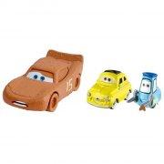 cars 3 / biler 3 die cast figur - lynet mcqueen / luigi / guidomed mudder - Køretøjer Og Fly