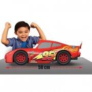 disneys biler 3 / cars 3 legetøj - lynet mcqueen legetøjs bil - 50 cm - Køretøjer Og Fly