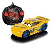 disney biler / cars fjernstyret bil cruz ramirez turbo racer - 17 cm - Fjernstyret Legetøj