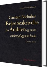 carsten niebuhrs rejsebeskrivelse fra arabien og andre omkringliggende lande - bog