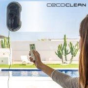 cecotec winrobot smart robot vinduespudser 870 5035 - 80w blå / sort - Husholdningsapparater