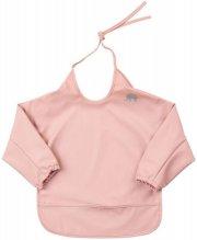 celavi hagesmæk med ærmer - rosa - Babyudstyr