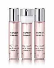 chanel - chance eau tendre refill edt 3 x 20 ml - Parfume