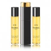chanel edt - no 5 - 3 x 20 ml. - Parfume